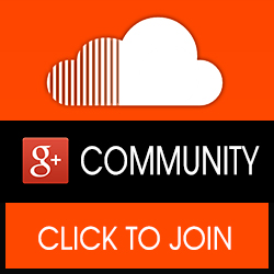 google+ and soundcloud community